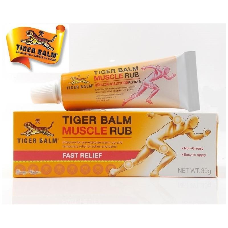 LOT de 15 crèmes chauffantes sport - Baume du tigre - Muscles - 30g