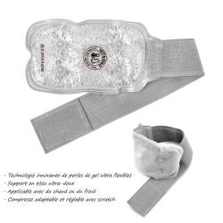 Poche de gel chaud / froid poignet - Compresse glace
