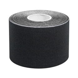 Rouleau Noir bande de strapping K-tape/taping